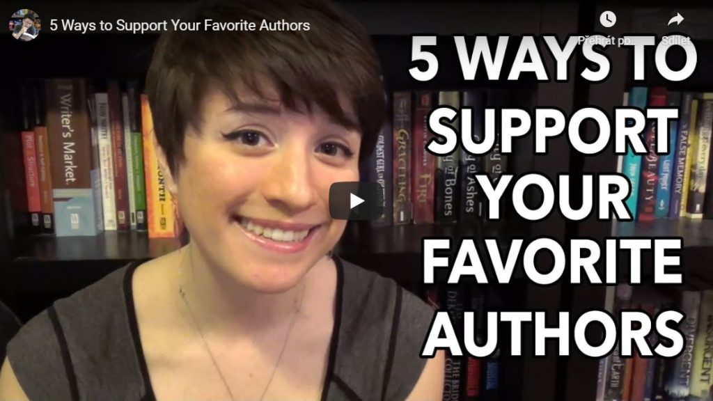 5 způsobů, jak podpořit autora