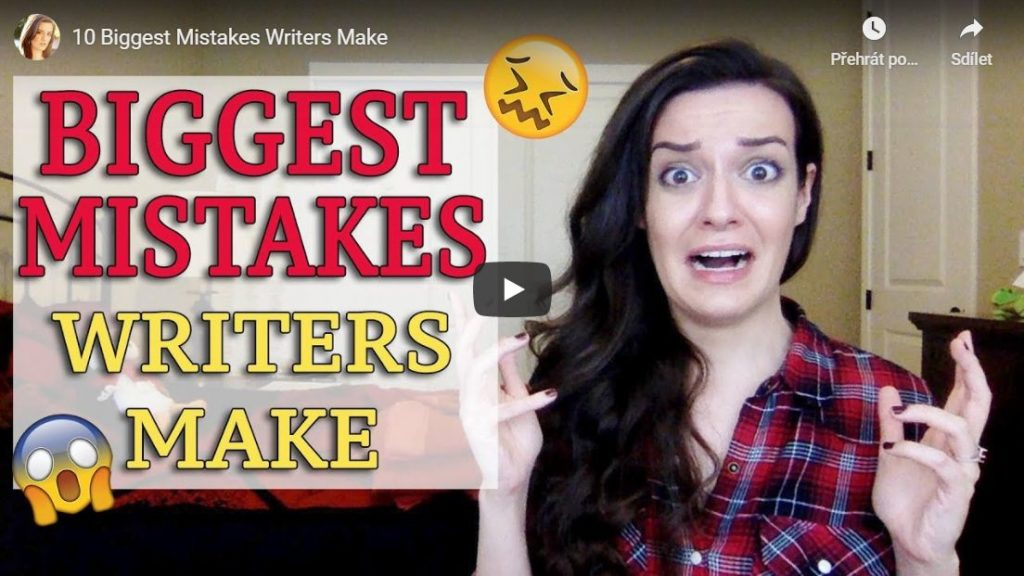 10 největších chyb, které autoři dělají