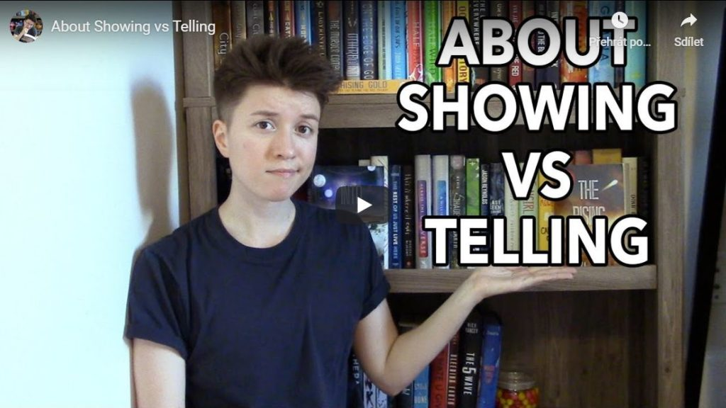 About Showing vs Telling