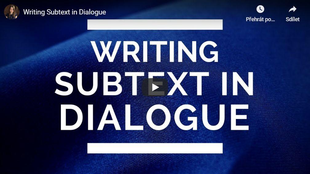 Podtext v dialogu