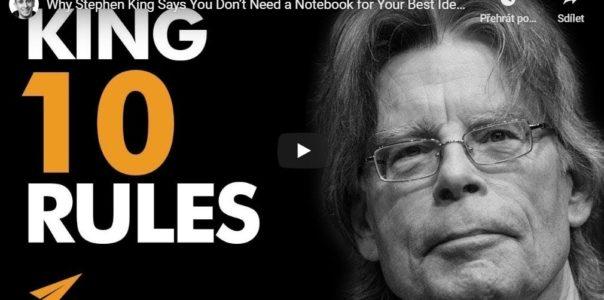 10 pravidel pro úspěch Stephena Kinga