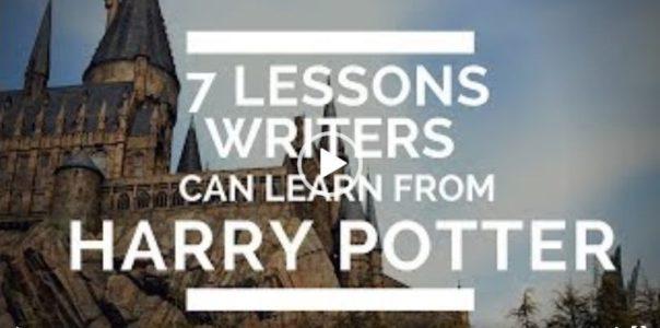 7 lekcí, které si mohou autoři odnést z Harryho Pottera