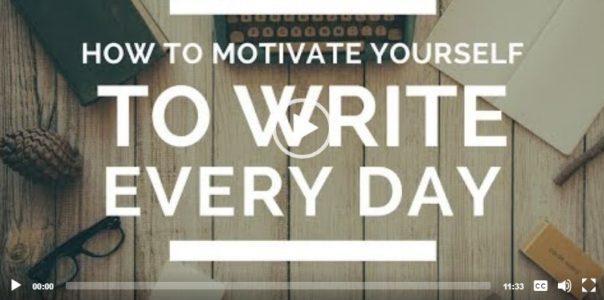 Jak se donutit psát každý den