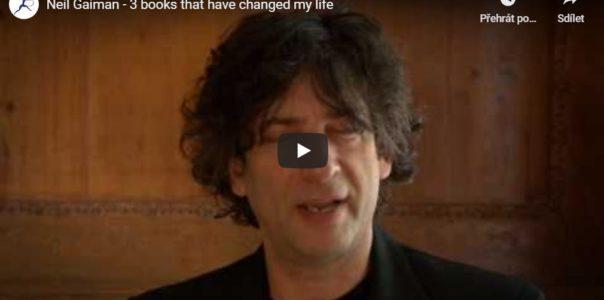 Neil Gaiman a 3 knihy, které mu změnily život