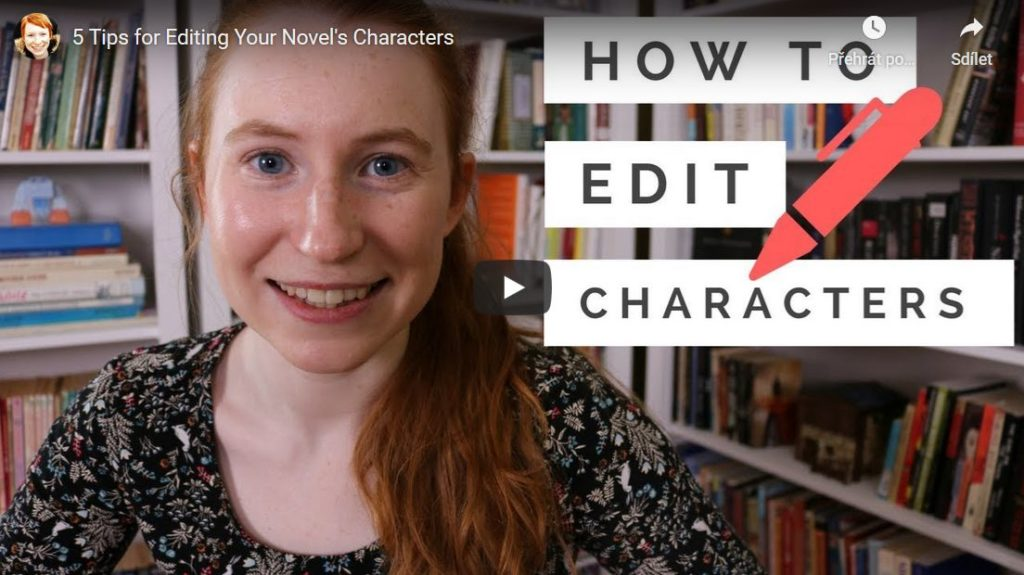 5 tips for editing your characters
